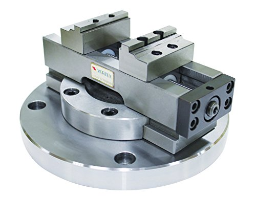 VERTEX 3900-2220 Self-Centering CNC Vise, 2'' by Vertex
