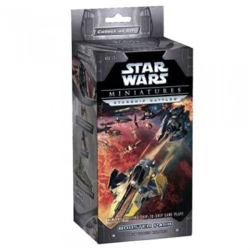 Wizards of the Coast Starship Battles Huge Booster (Star Wars Miniatures) ()