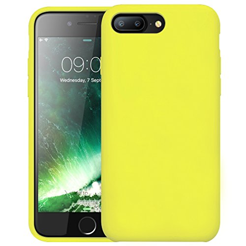 custodia iphone 8 gialla