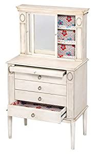 Amazoncom ACME Furniture 97220 2 Count Leven Jewelry Armoire