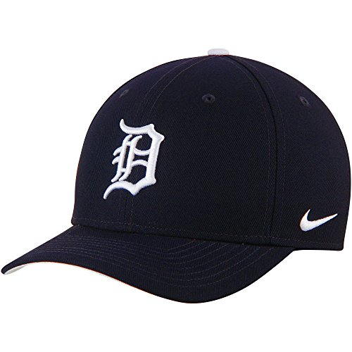 Detroit Tigers Nike Wool Classic Adjustable Performance Hat Navy