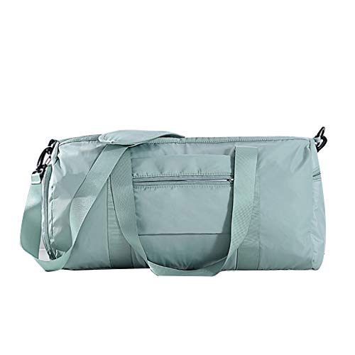 Ktyssp New Home Travel Large Capacity Dry and Wet Separation Storage Bag Beach Bag (Light Blue)