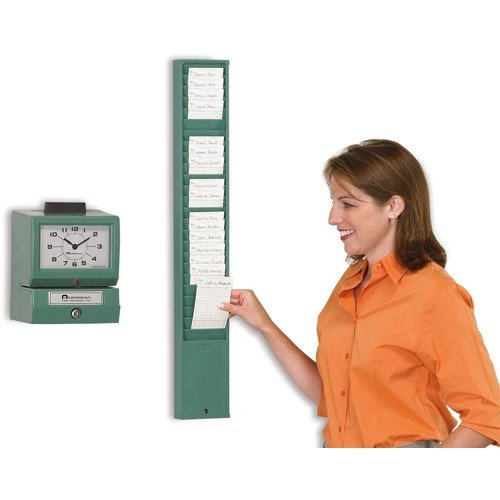 Acroprint Time Card Rack - 25-Pocket - (Acroprint Green Time Card Racks)