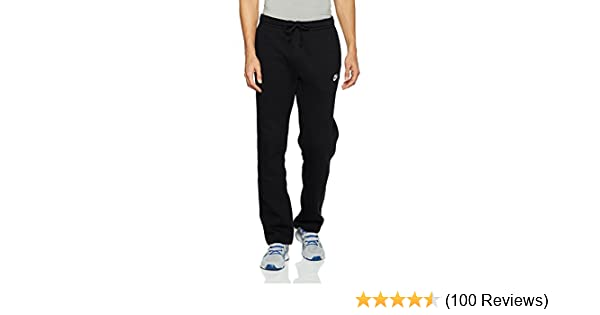 2449e39c46c4 Amazon.com  NIKE Sportswear Men s Open Hem Club Pants  Sports   Outdoors
