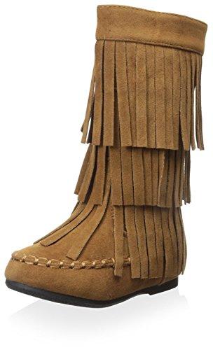 Yoki Kid's Ava Boot - Rust - 6 M US Toddler