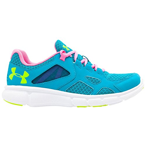 Pacific Blue Womens 1258735 pink yellow Running Shoes Armour Under 478 Thrill f1ygqwPWB