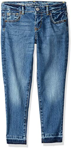 - Gymboree Girls' Big Super Skinny Jeans, Medium wash with Hem, 7P