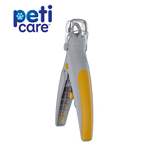 ated Pet Nail Clipper- Great for Cats & Dogs, features LED Light, 5X Magnification that Doubles as a Nail Trapper ()