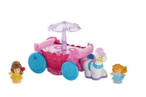 Fisher-Price Little People Disney Princess Carousel Carriage