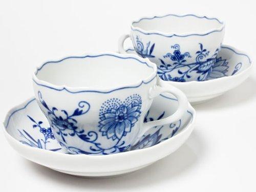 Meissen Meissen tea cup and saucer ( Blue Onion ) 2 customer set meissen-09