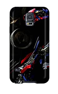 Excellent Design Optimus Prime Phone Case For Galaxy S5 Premium Tpu Case