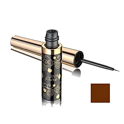 Vegan Liquid Liner by 100% Pure, Dark Chocolate