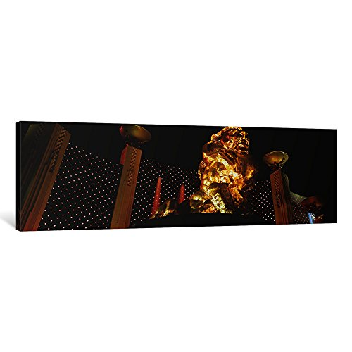 - iCanvasART 1 Piece MGM Grand Las Vegas NV Canvas Print by Panoramic Images, 36 x 12/0.75
