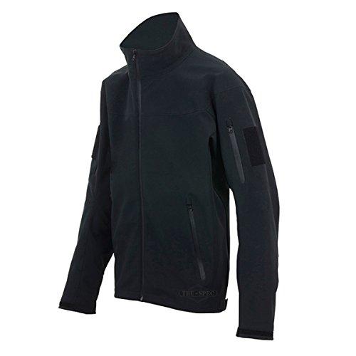 TRU-SPEC Men's 24-7 Tactical Softshell Jacket, Black, Large