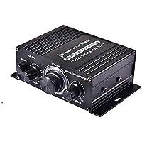 Honeytecs 400W DC12V BT Amplificador HiFi Car Stereo Music Receiver FM MP3 Amplificador de potência