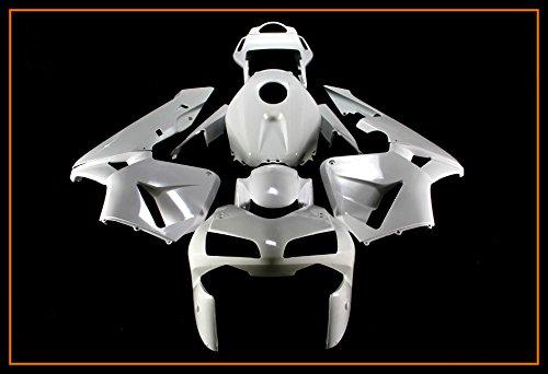 Fairing Set - Protek Unpainted ABS Plastic Injection Mold Full Fairings Set Bodywork Cowl for 2003 2004 Honda CBR600RR CBR 600RR