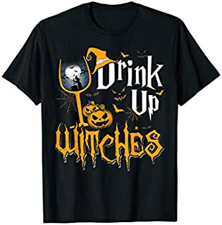 Drink Up Witches The  Great Give Halloween Party T-shirt | Size S - 5XL