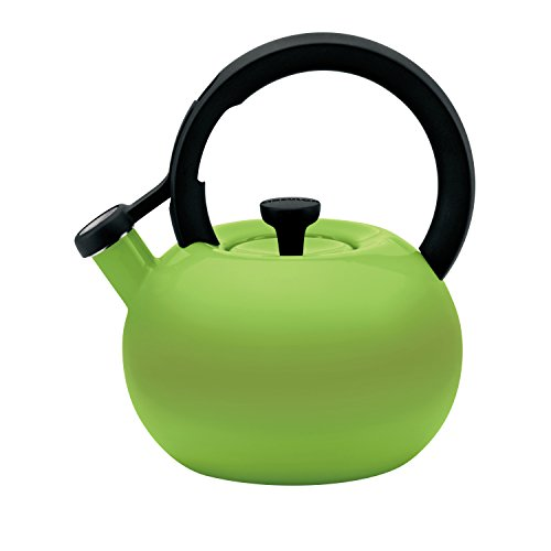 (Circulon 2-Quart Circles Teakettle, Kiwi Green)