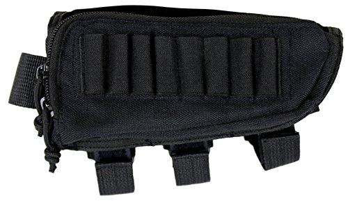 Tactical Sharpshooter Hunter Buttstock Pack - Black