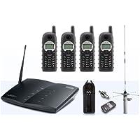 ENGENIUS TECHNOLOGIES,INC Engenius Technologies,Inc Durapro-Pib20l-Ind Durafon Pro Base / (4) Handset Bundle W/20M Internal Antenna