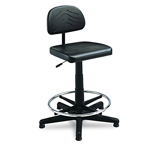 Sold Separately Bench (Safco Products 5110 Task Master Economy Workbench Chair (Additional options sold separately), Black)
