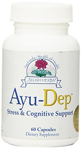 Ayush Herbs Ayu-Dep Herbal Supplement, 60 Count For Sale