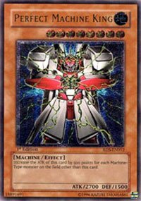 YuGiOh Rise of Destiny Perfect Machine King RDS-EN012 Rare Ultimate [Toy]