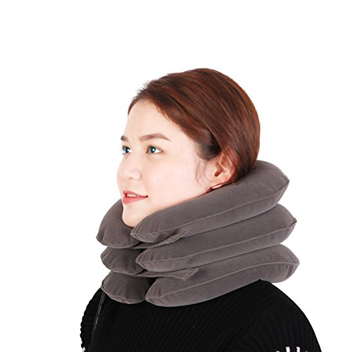 Neck Traction Device By Atusy    Fixed Neck And Shoulders   Frees Up Your Neck Pain  You Will Feel Effective In The First Use   Especially Effective With Acute Muscular Pain
