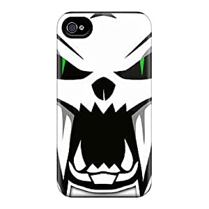 Bumper Cell-phone Hard Covers For Iphone 4/4s (TpR978esPc) Unique Design Colorful Arctic Cat Series