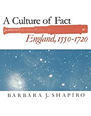 A Culture of Fact: England, 1550-1720