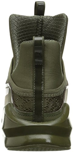 Burnt KRM PUMA Shoe Puma Running Fierce Black Olive Women's q7xwXzg