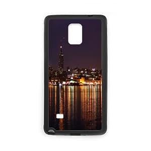 Samsung Galaxy Note 4 Case, city 58 Case for Samsung Galaxy Note 4 Black