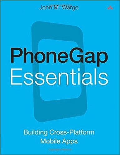 PhoneGap Essentials: Building Cross-platform Mobile Apps (Older
