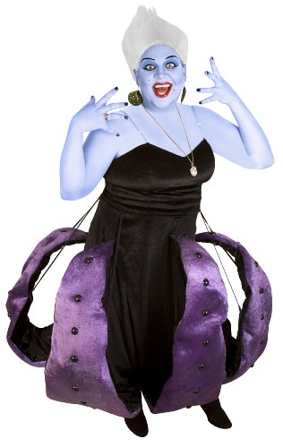 Adult Sea Witch Octopus Costume (Plus Size Mermaid Costumes)
