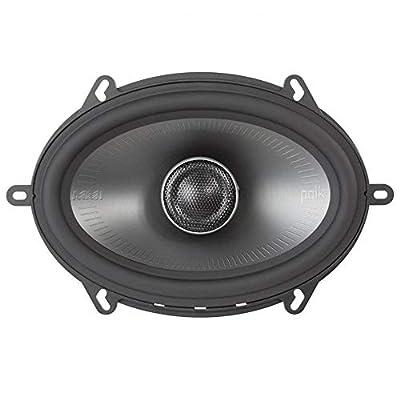 Polk Audio MM1 Series 5x7 Inch 300W Coaxial Marine Boat ATV Car Audio Speakers