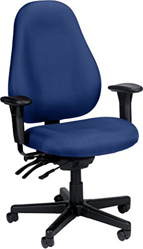 Eurotech Seating Slider 1701-NAVY Seat Swivel Chair, Navy