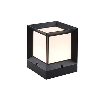KMYX Tradicional E27 Exterior Post Lantern Garden Lámpara de ...