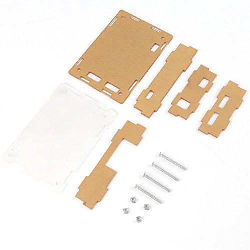 Clear Acrylic Enclosure Case For Digital Temperature Controller Thermostat Module (Telephone Thermostat Controller)