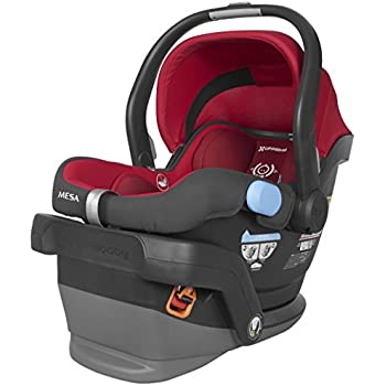 2018 UPPAbaby MESA Infant Car Seat Denny Red