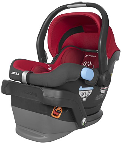 Uppababy Vista Car Seat Adapter (UPPAbaby MESA Infant Car Seat, Red, Denny)