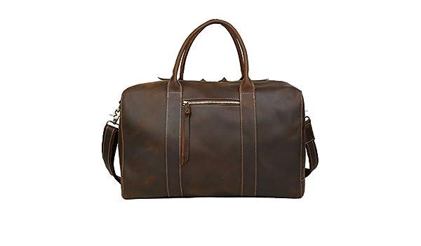 4b264ac5b738 Amazon.com: Ybriefbag Unisex Hand Bills Shoulder Bags Leather Travel ...
