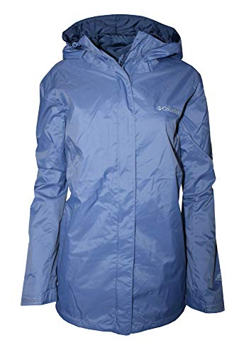 (Columbia Women's plus Mary's Peak II hooded Rain Jacket (1X))