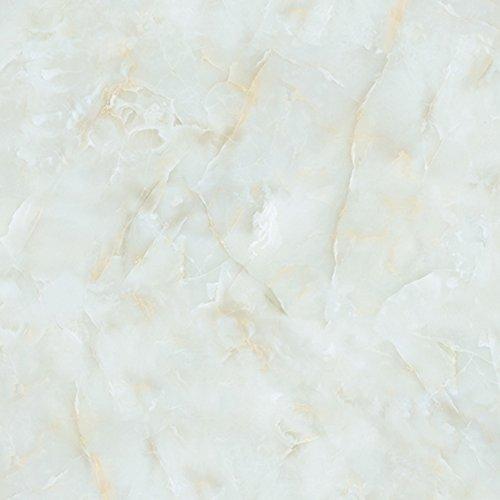 Bestmemories Self Adhesive Vinyl Peel-stick Wallpaper Imitation Marble Sticker Tile Stickers 3D Floor Wall Stickers Home Renovation Kitchen Waterproof PVC Stickers Granite Look Counter Top (A)