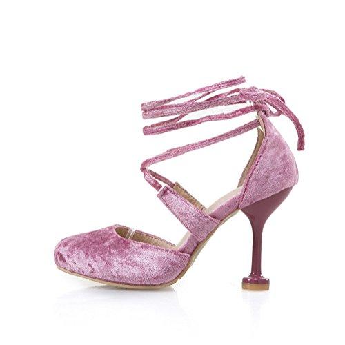 Pink con 35 Zeppa EU AdeeSu Donna Rosa Sandali WTxBnqqvX