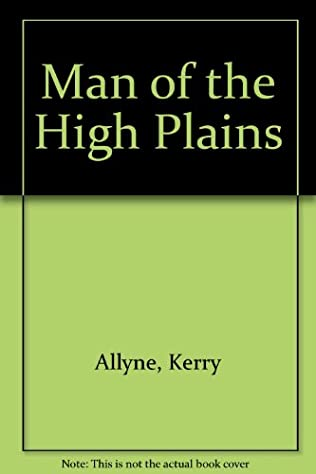book cover of Man of the High Plains
