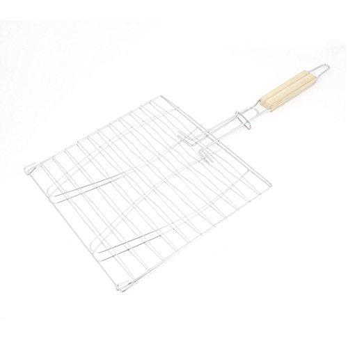 Amazon.com: Cocina al aire libre Gamping Asada Barbacoa canasta 24cm x 24cm: Kitchen & Dining