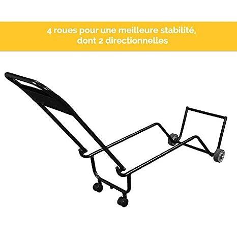 Ce Roulettes ® Pour Vivezen À Et De Table Chariot Transportable Norme Pliable Massage 4AjLRq35