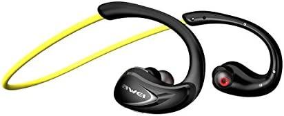Auriculares inalámbricos para ejercicio, Awei V4.2 Bluetooth APTX ...