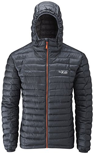 Nimbus Jacket - RAB Nimbus Jacket - Men's Ebony/Zinc Small