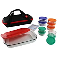 Pyrex 22-Piece Portable Bakeware Storage Set